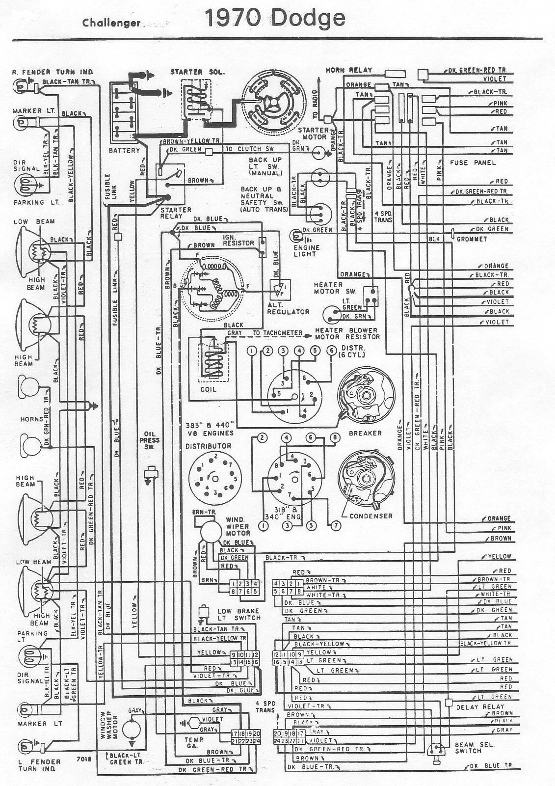 1970 plymouth duster wiring harness wirdig 1970 dodge challenger wiring diagram dodge challenger wiring diagram